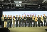 Guests attending TAIP��s achievement presentation photographed with the TAIP research teams