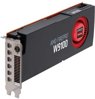 AMD FirePro W9100 graphics card with 32GB memory
