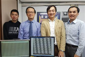 Jinn P Chu, vice president, National Taiwan University of Science and Technology (NTUST), and his team