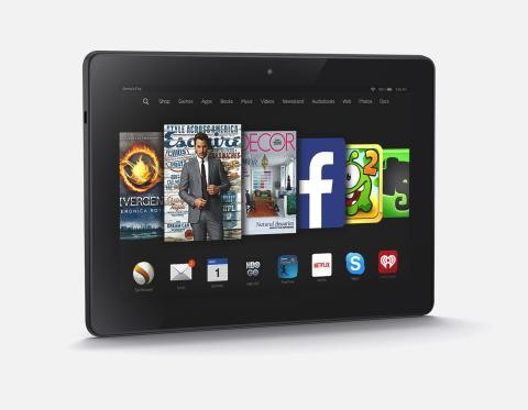 Amazon Fire HDX tablet