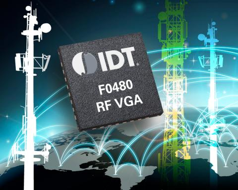 IDT F0480 RF variable gain amplifier