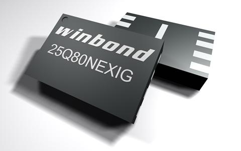 Winbond NOR flash for IoT