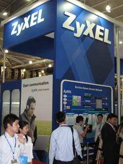 Zyxel+highlights+its+products+at+CommunicAsia+2008