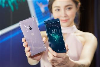 Sony+Mobile+introduces+Xperia+XZ2+at+a+product+event+in+Taiwan