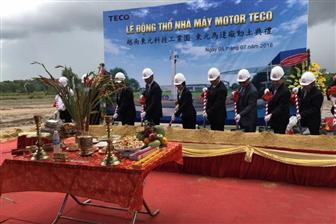Teco+breaks+ground+for+a+Vietnam+factory