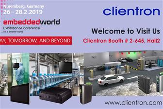 Clientron+at+Embedded+World+2019