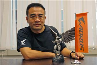 Eddie+Lin%2C+Gigabyte%27s+executive+vice+president+of+Aorus+Brand+Marketing