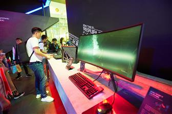 The gaming monitor market sees fierce competition