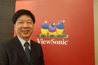 ViewSonic chairman and CEO James Chu