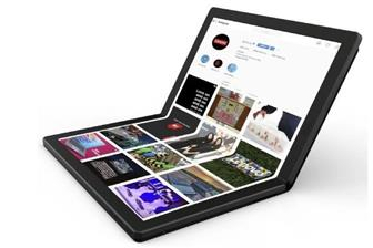 Lenovo's foldable notebook
