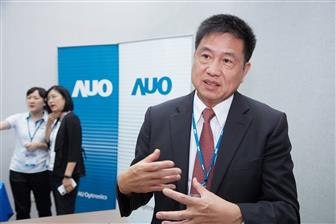AUO+chairman+Paul+Peng