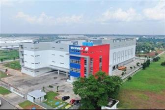 PT Synnex Metrodata's logistics center in Jakarta, Indonesia