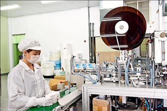 A miniaturized mask production line, part of a turnkey solution.