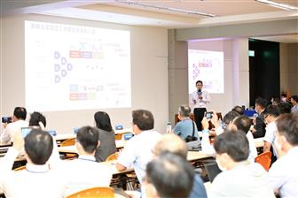 Edgetech Director of AI Platform Wang Shou-tian gave his talk