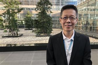 Quanta Cloud Technology president Mike Yang