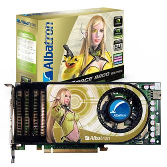 Albatron releases Nvidia 8800GTST DirectX 10 compatible graphics card