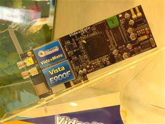 Computex 2008 Compro Pushes Own Brand TV Card And CE Products