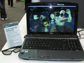 Acer: ad ottobre il primo notebook con schermo 3D