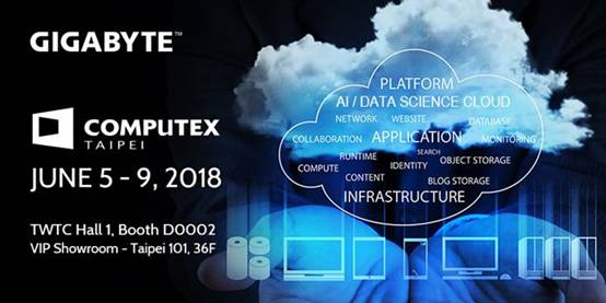 Gigabyte to demonstrate integrated AI/Data Science Cloud at