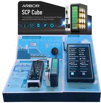SCP Cube: The Industry's First 2-in-1 Supercapacitor Power and Environmental Monitoring Solution