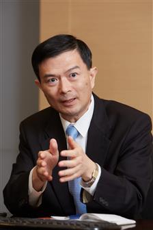Chilisin president Jack Chung Photo: Michael Lee, Digitimes, January 2019