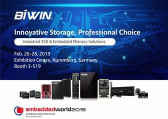 Biwin at Embedded World 2019