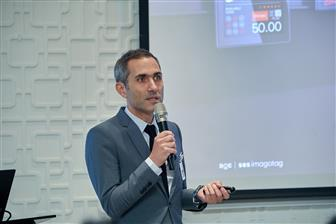 Guillaume Portier, SEVP  trade Development, Marketing APAC, SES-imagotag