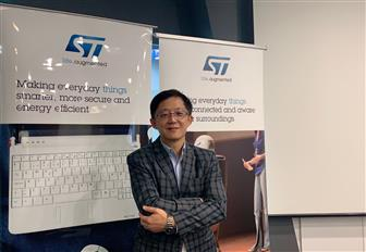Technical marketing manager Jerry Chang for Imaging Division, STMicroelectronics