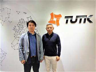 ThroughTek CEO Patrick Kuo and vice president of product development center Scott Yang will lead the ThroughTek team at CES 2020