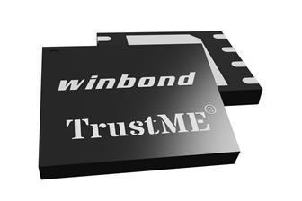 Winbond TrustME Secure Flash memory chips