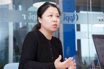 Appier co-founder and COO Winnie Lee  Photo: Chloe Liao, Digitimes, March 2020