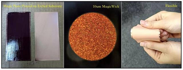 NeoGene Tech unveils MagicWick technology at 10 um thickness to support ultra-thin vapor chamber devices