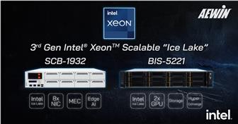 New servers powered by Intel's new CPUs from AEWIN