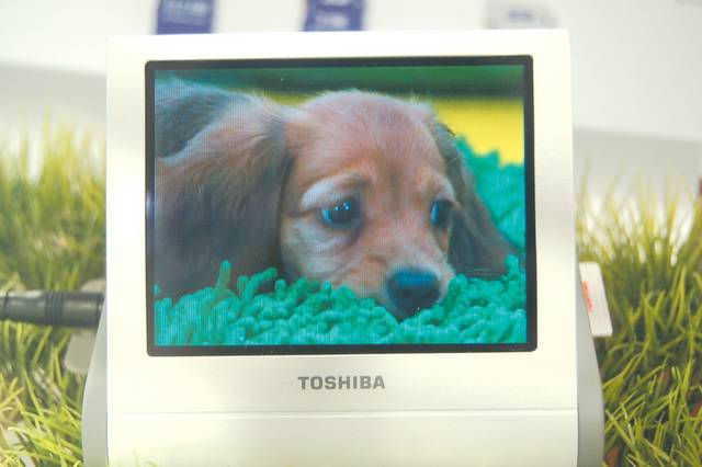 OLED multimedia player from Toshiba