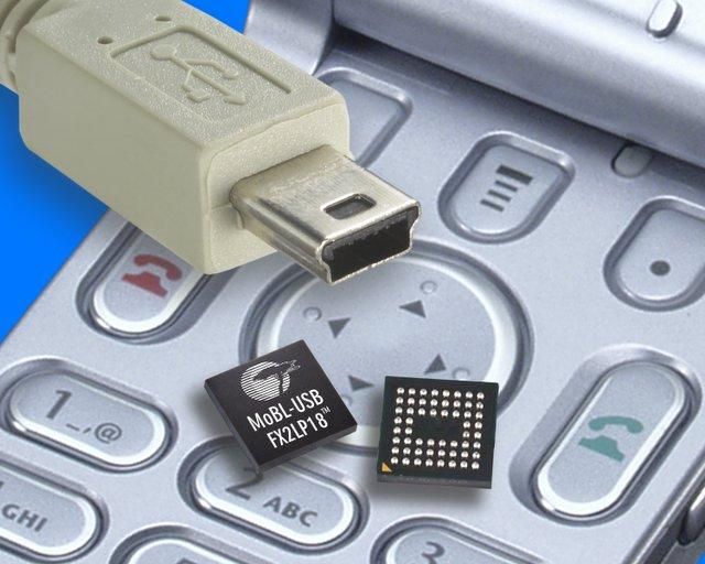 Cypress introduces USB 2.0 controller for mobile phones
