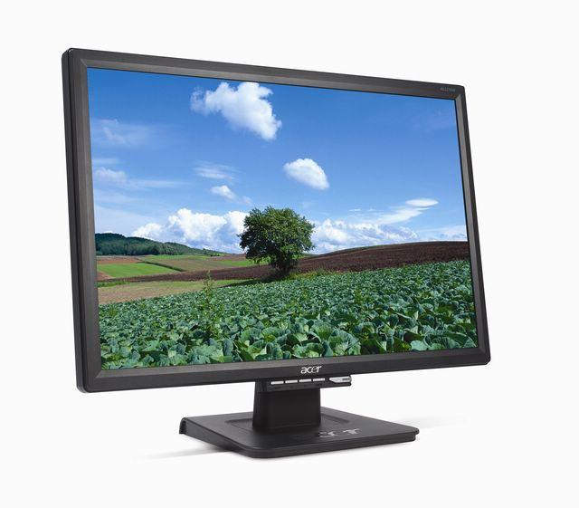 Acer debuts AL2216W 22-inch LCD monitor