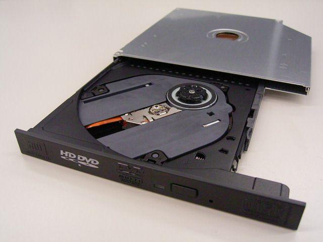 Toshiba unveils slim HD DVD write drive for notebooks