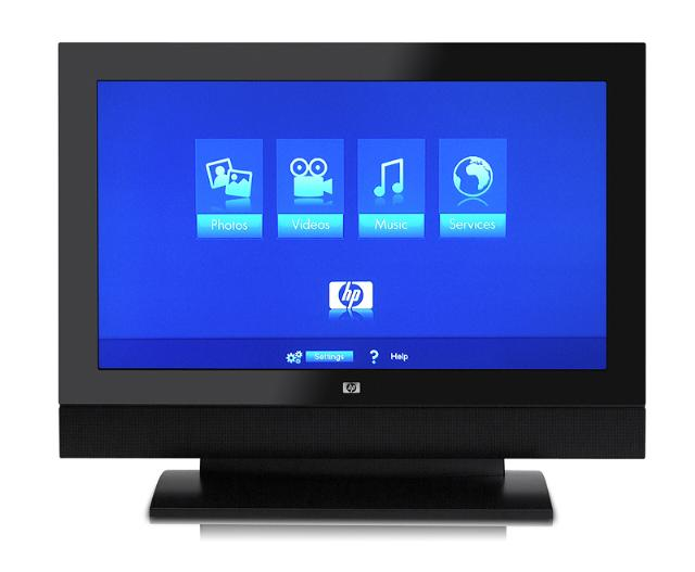 HP introduces wireless LCD TV