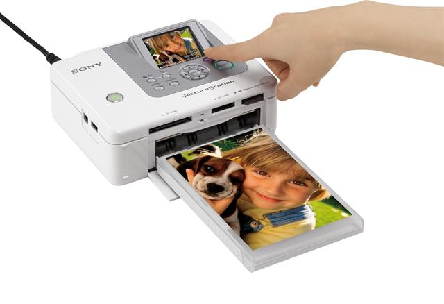 Sony introduces new photo printers