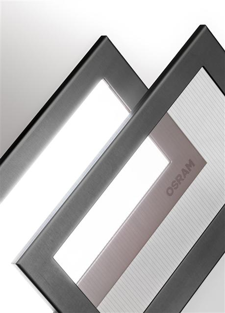 Osram introduces transparent white OLED tile