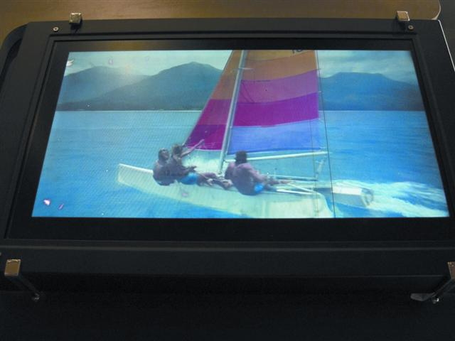 Samsung Electronics 'blue phase' TFT LCD panel