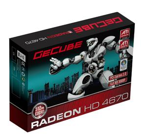 GeCube+GC%2DAHD4670XTG3%2DE3+graphics+card+featuring+the+ATI+Radeon+HD+4670+GPU