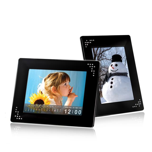 Transcend launches 8-inch digital photo frame with touch controls