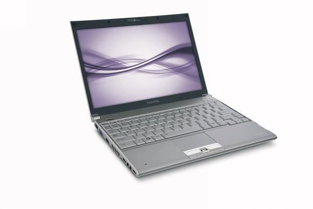 Toshiba Portege R600 series business notebook with WiMAX capability
