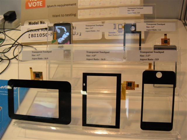 Computex 2009: Elan exhibits its touchscreen specialty