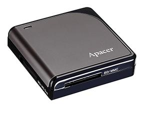 Computex 2009: Apacer introduces 4-slot flash card reader