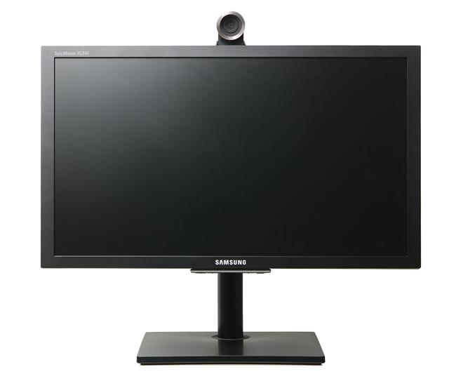 Samsung and Radvision develop HD video conference multimedia LCD monitor