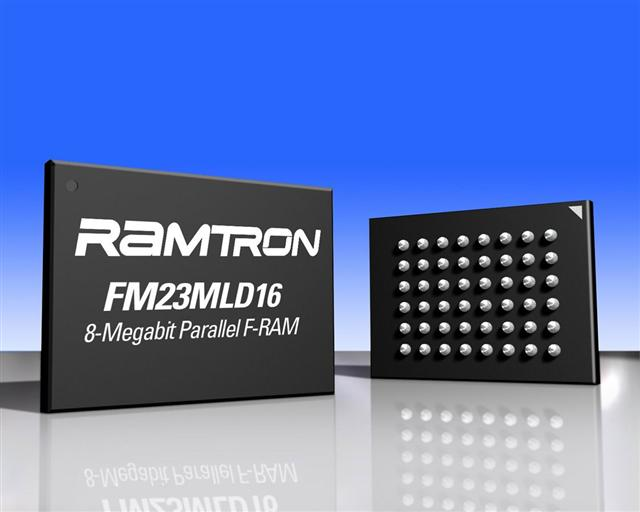 Ramtron announces 8Mb FeRAM