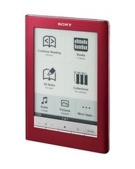 Sony PRS600 Reader with touchscreen