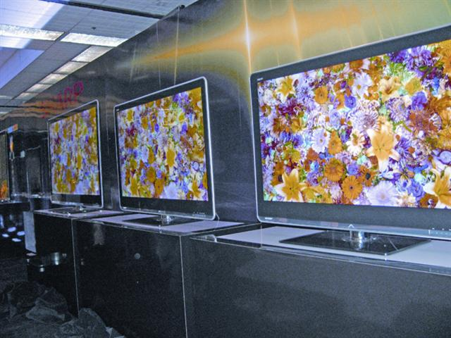 CES 2010: Sharp LCD TVs with four primary color technology